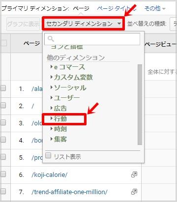 サイトコンテンツでページタイトルとURLを並べて表示する方法5