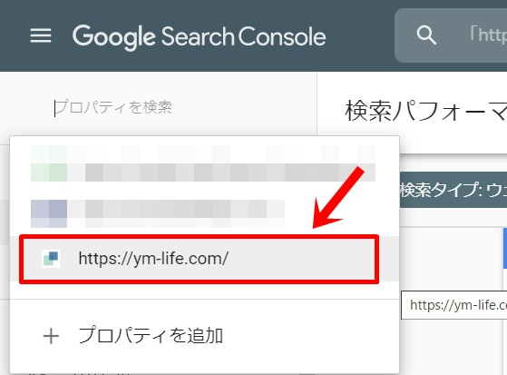 Search Consoleで調べる1