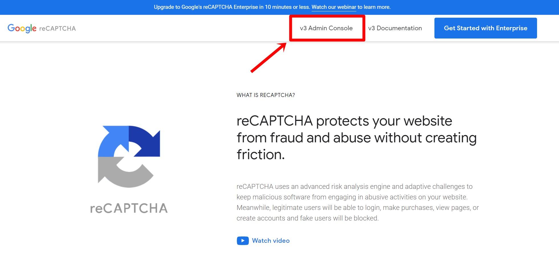reCAPTCHAの導入手順